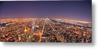 Empire State Building 86th Floor Observatory Metal Print by James DiBianco Jr