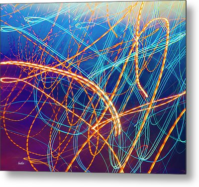 Energy Metal Print by Betsy C Knapp