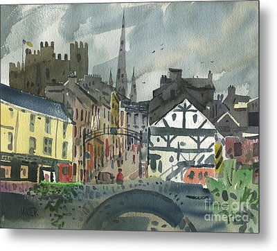 Enniscorthy On The Slaney Metal Print by Donald Maier