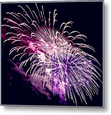 Exploding Stars Metal Print by DigiArt Diaries by Vicky B Fuller