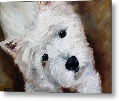 Face Of Endearment Metal Print by Mary Sparrow