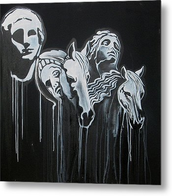Fade To Black And Remember Back... Metal Print by Stephen  Barry