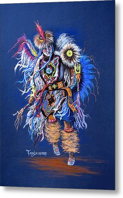Fancy Dancer II Metal Print by Tanja Ware