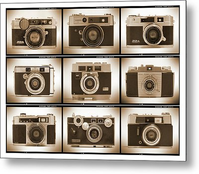 Film Camera Proofs 2 Metal Print by Mike McGlothlen