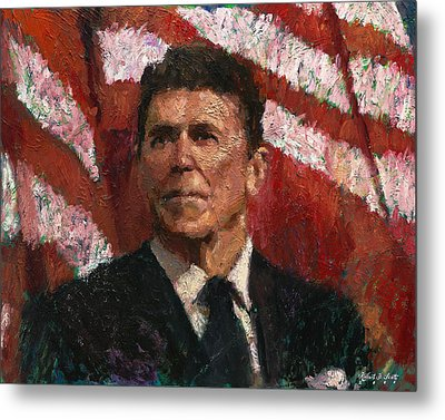 Freedom Fighter Metal Print by Robert Scott