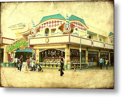 Fun House - Jersey Shore Metal Print by Angie Tirado