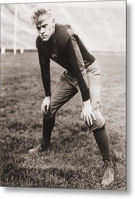 Future Us President Gerald Ford Played Metal Print by Everett