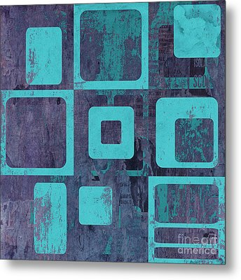 Geomix 02 - Sp06c6b Metal Print by Variance Collections
