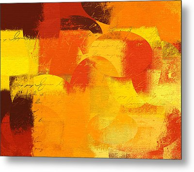 Geomix 05 - 01at01 Metal Print by Variance Collections