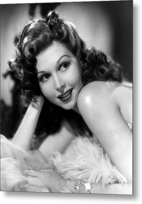 Go West Young Lady, Ann Miller, 1941 Metal Print by Everett