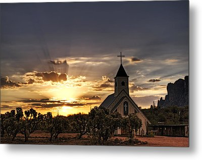 Golden Morning Light  Metal Print by Saija  Lehtonen