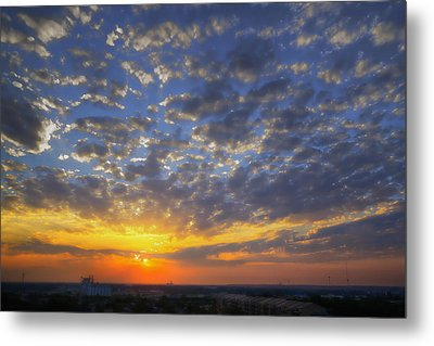 Good Day Sunshine Metal Print by Joan Carroll