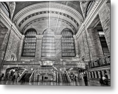 Grand Central Terminal Station Metal Print by Susan Candelario