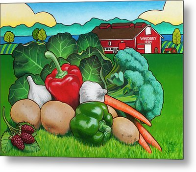 Greenbank Bounty Metal Print by Stacey Neumiller