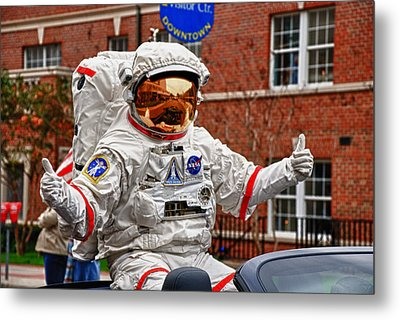 Ground Control To Major John Metal Print by Frank Feliciano
