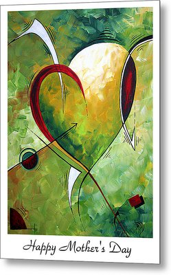 Happy Mother's Day By Madart Metal Print by Megan Duncanson