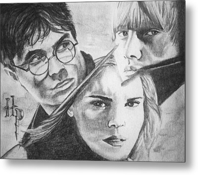 Harry Potter Metal Print by Madelyn Mershon