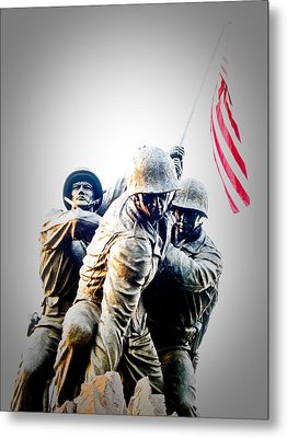 Heroes Metal Print by Julie Niemela