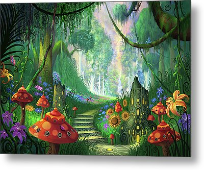 Hidden Treasure Version 2 Metal Print by Philip Straub