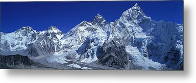 Himalaya Mountains, Nepal Metal Print by Panoramic Images