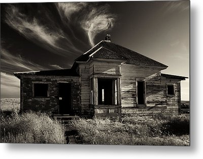 In Ruin Metal Print by Mike  Dawson