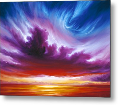 In The Beginning Metal Print by James Christopher Hill