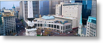 Indianapolis, Indiana Metal Print by Panoramic Images