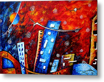 Inner Sanctuary By Madart Metal Print by Megan Duncanson