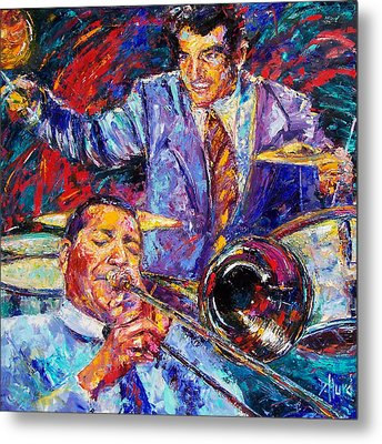 Jack And Gene Metal Print by Debra Hurd