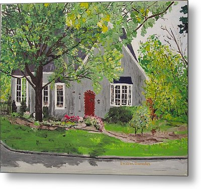 Jared House Metal Print by Sharon  De Vore