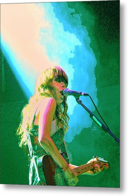 Jenny Lewis 1 Metal Print by Dominic Piperata
