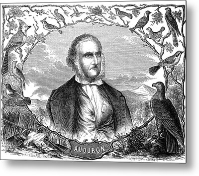 John James Audubon Metal Print by Granger