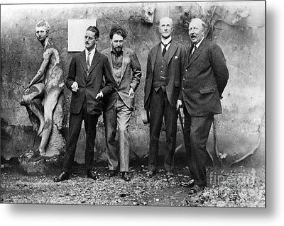 Joyce, Pound, Quinn & Ford Metal Print by Granger