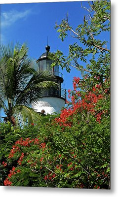 Key West Lighthouse Metal Print by Frank Mari