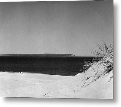 Lake Michigan Shoreline Manitoulin Island Metal Print by Richard Singleton