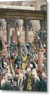 Let Him Be Crucified Metal Print by Tissot