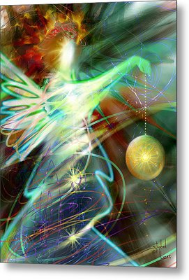 Lite Brought Forth By The Archkeeper Metal Print by Stephen Lucas