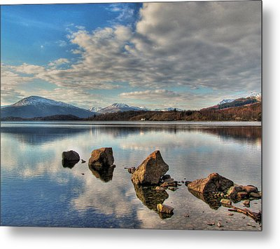 Loch Lomond Metal Print by Fiona Messenger