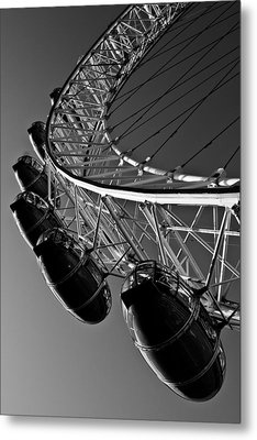 London Eye Metal Print by David Pyatt