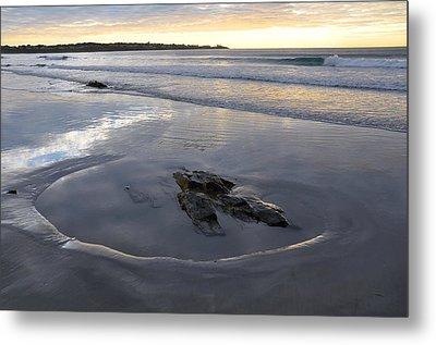 Longsands Rock 2 Metal Print by Catherine Easton