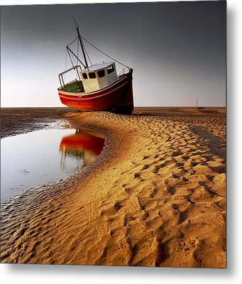 Low Tide Metal Print by Peter OReilly