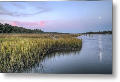 Lowcountry Marsh Grass On The Bohicket Metal Print by Dustin K Ryan