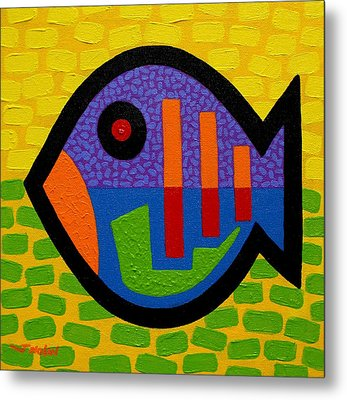 Lucky Fish II  Metal Print by John  Nolan