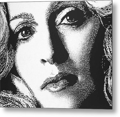 Madonna Metal Print by Max Eberle