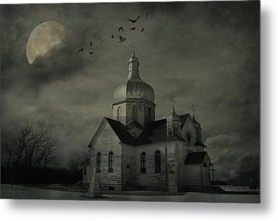 Mannerisms Of Midnight  Metal Print by JC Photography and Art