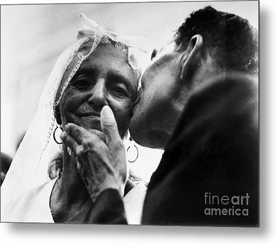 Marrying At 100 Metal Print by Granger