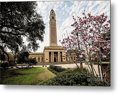 Memorial Tower Metal Print by Scott Pellegrin