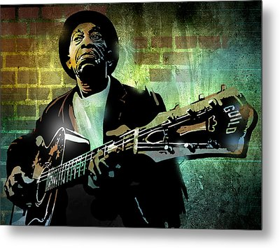 Mississippi John Hurt Metal Print by Paul Sachtleben