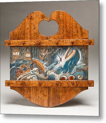 Moby Dick Metal Print by James Neill