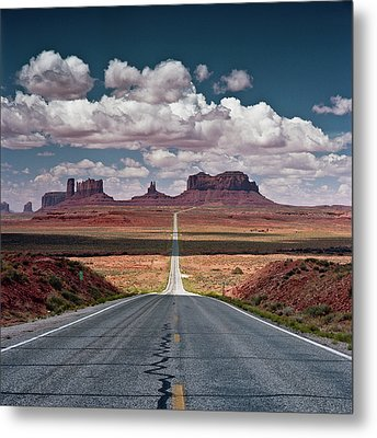 Monument Valley Metal Print by BrusselsImages